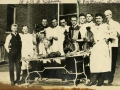 """American School of Osteopathy Open-Air Dissection Class"""
