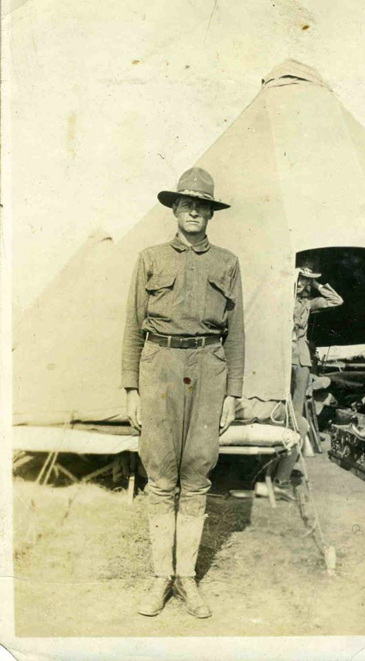 Earl L. Stahl in Camp I, Earl L. Stahl Collection, Courtesy of Craig Bowers.