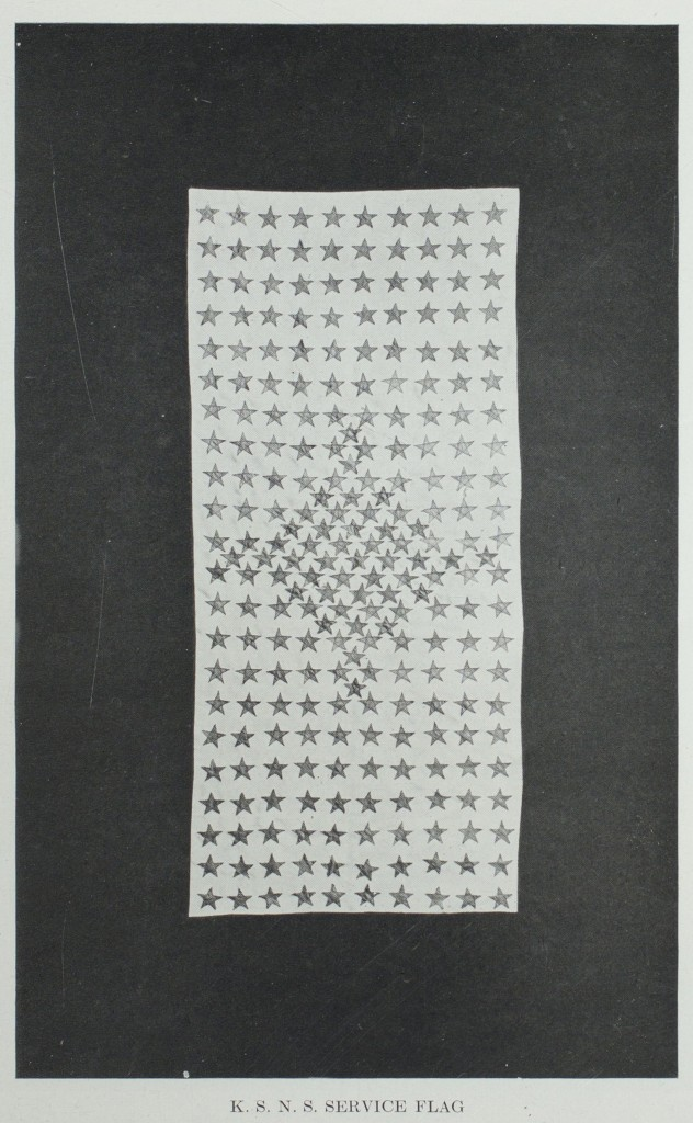 The K.S.N.S. Service Flag
