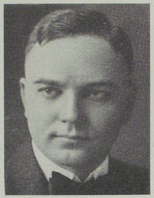 Charles A. Epperson, Professor of Mathematics.  1920 Echo; Page 2. Courtesy of Pickler Memorial Library, Special Collections.