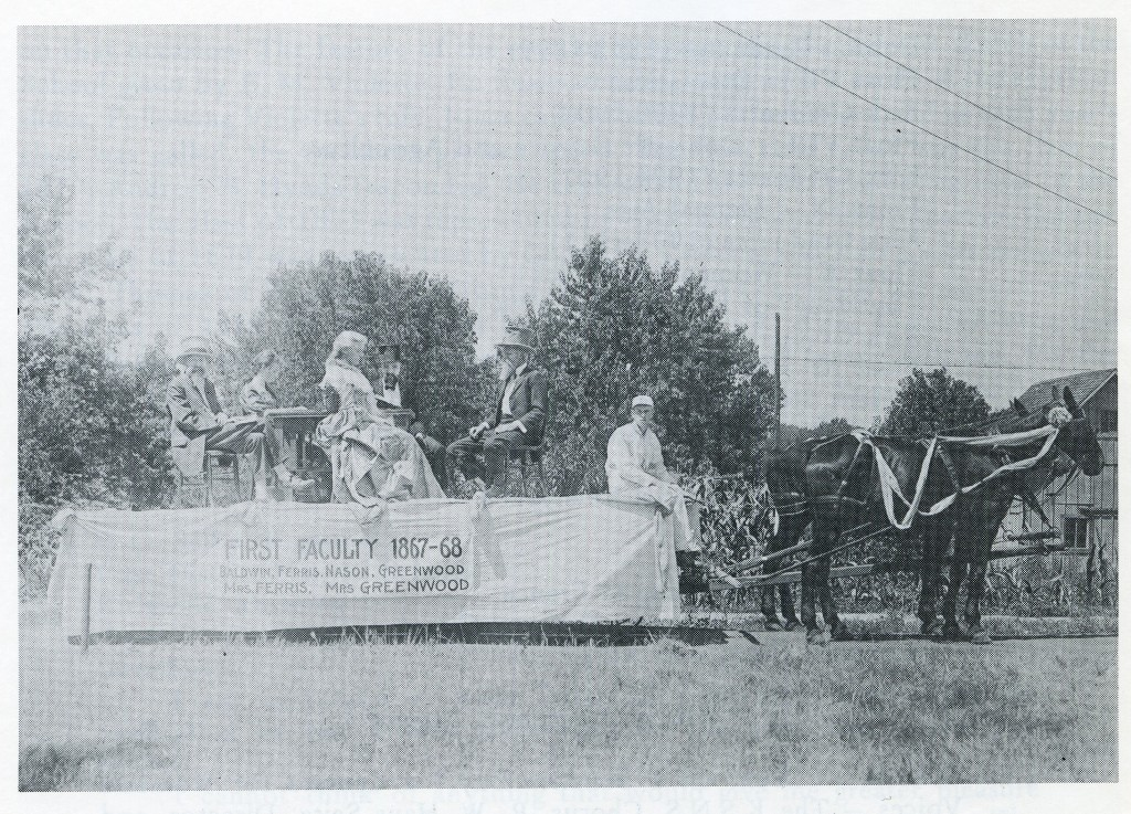 A Float from the Semi-Centennial Celebration